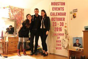 houston events calendar october 17 - 23, 2016: