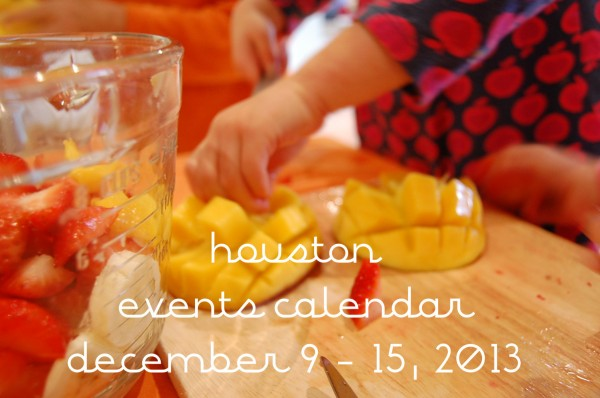 houston events calendar 9-15, 2013